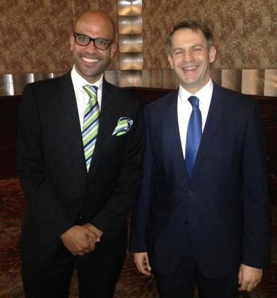 Excellency Mr Robert Lauer & Managing Director & EVP APAC Dr. Denis Diop